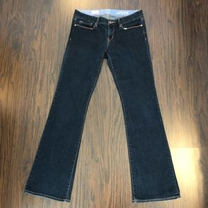 GAP 1969 SEXY BOOT Jeans 29/8R (actual 31x32.5)